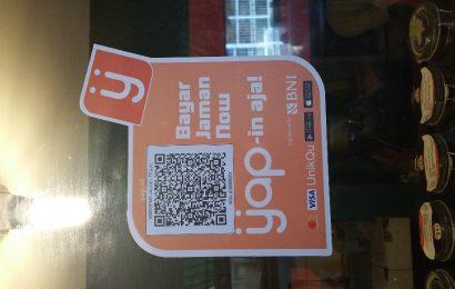 Transaksi di Waroeng Jadoel menggunakan Yap! rencana produk yang akan diluncurkan oleh BNI dalam waktu dekat