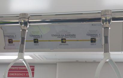 Stasiun Kereta Api Bandara Railink Jakarta Soekarto Hatta Soetta